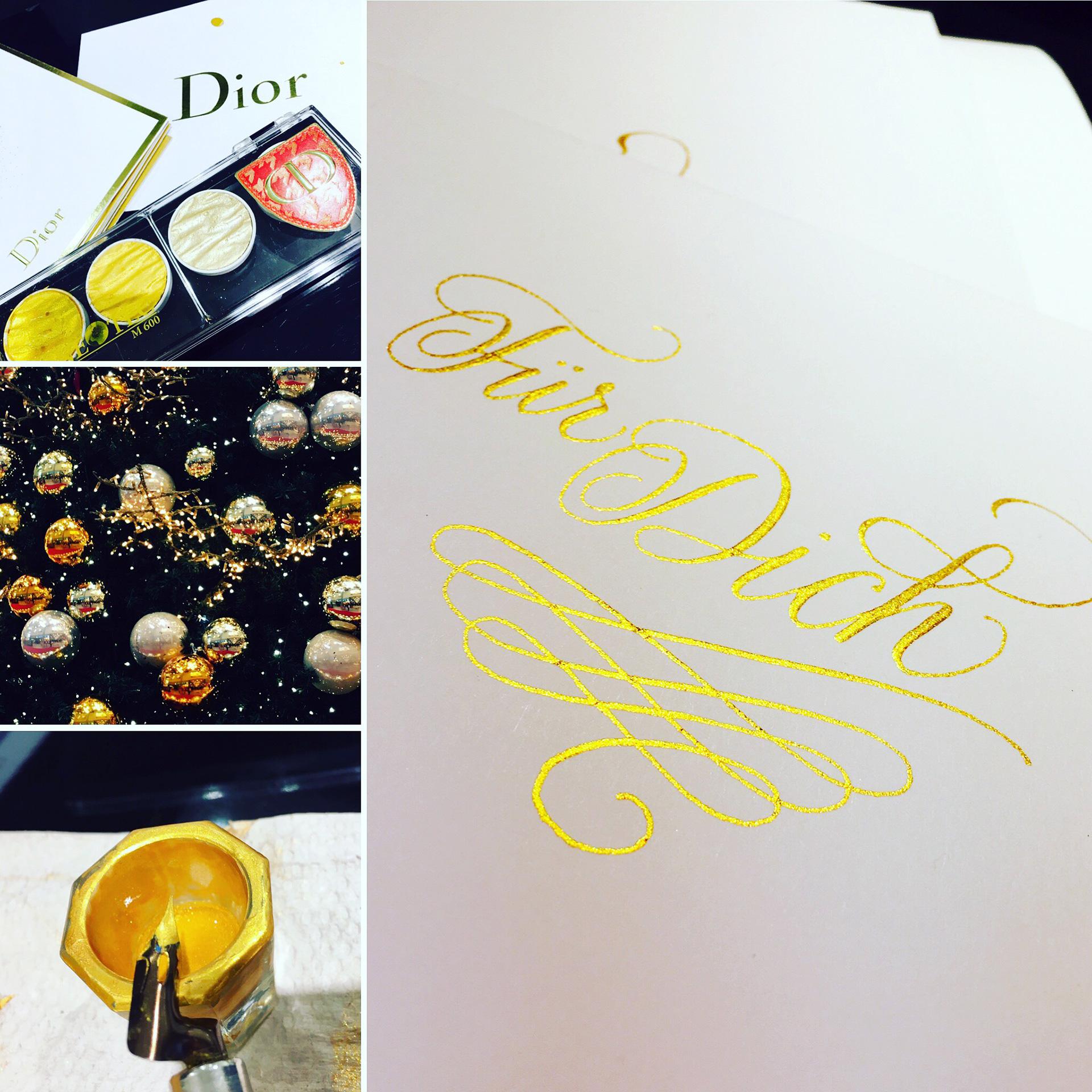 Dior Lettering 4